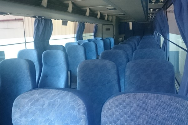 39 Seater Luxurious Coach Interior Cape Town