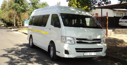 13 Seater Fleet Unit Parking in Cape Town