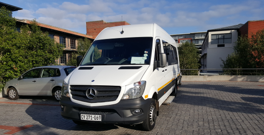 21 Seater Fleet Unit Parking at Corporate Office