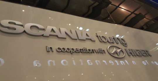 Bus Companies in Cape Town with Scania Touring Coaches