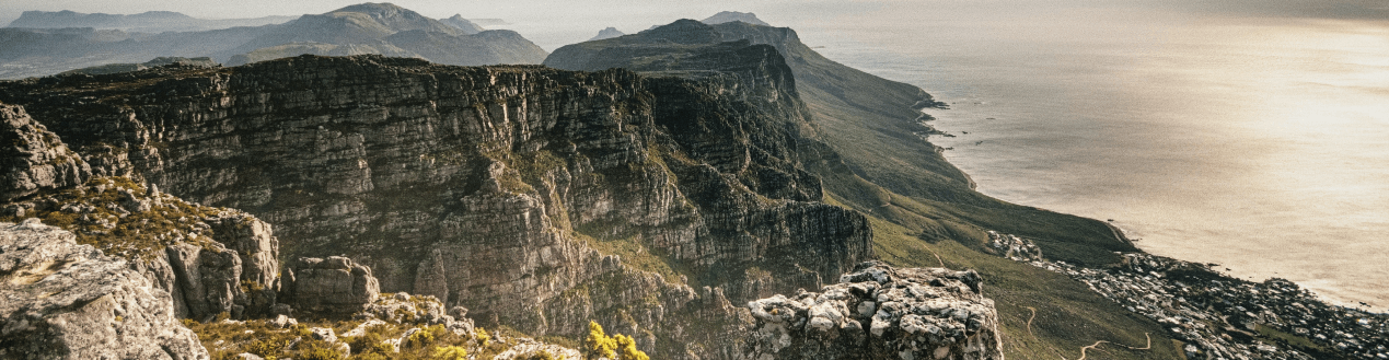 Beautiful Mountains in South Africa
