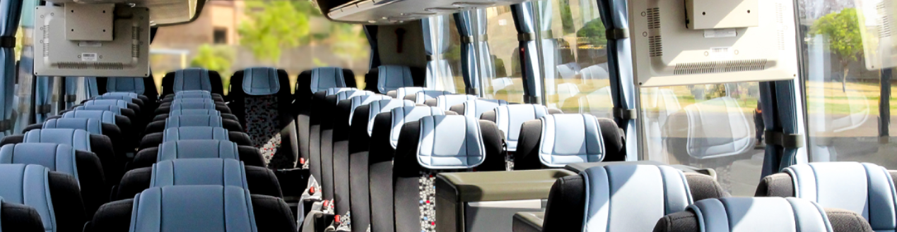 52 Seater Luxury Coach Interior in Cape Town