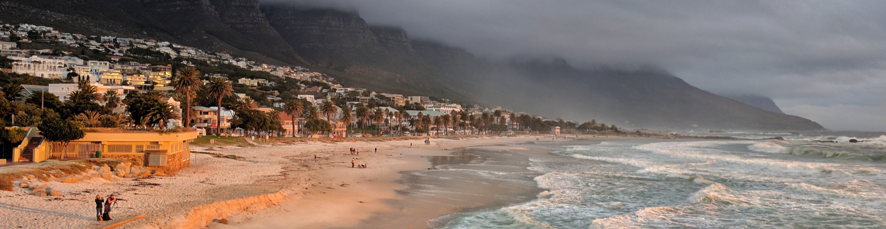 Travel to Cape Towns Beaches in your Coach Hire Rental