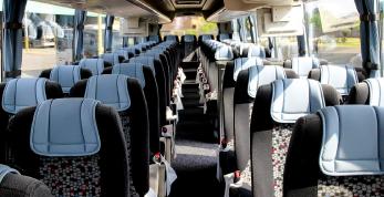 Tour Bus Luxurious Interior